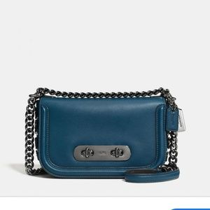 Coach Swagger 20 Shoulderbag in Mineral NWT